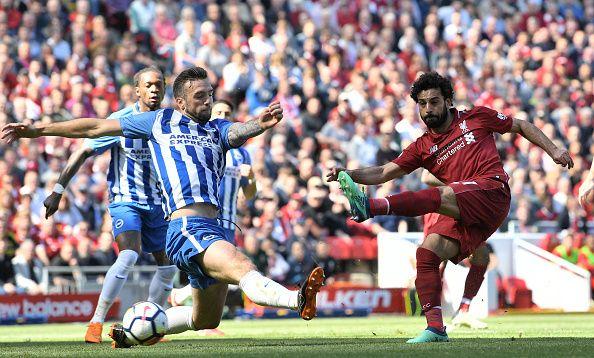 Salah vs Brighton