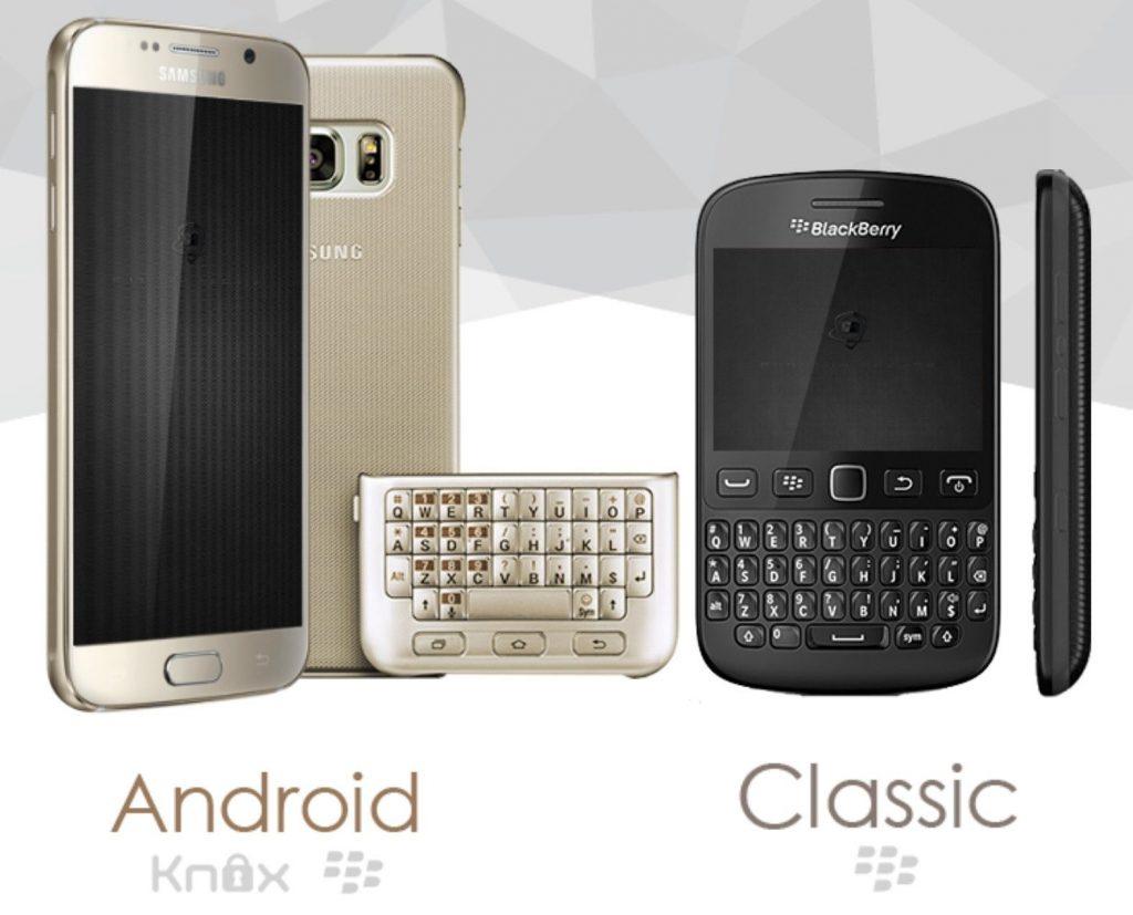 Samsung and Blackberry - Phantom Secure