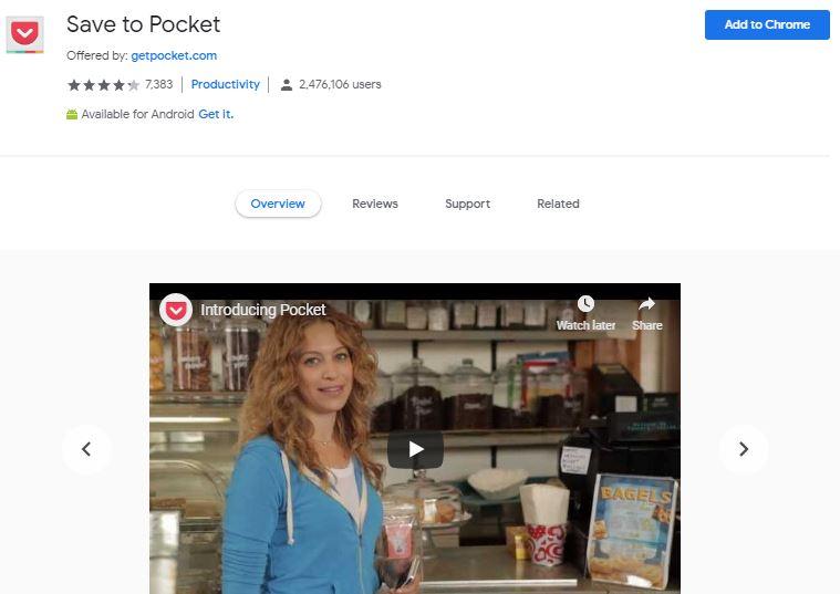 Save To Pocket Chrome | Airnewsonline