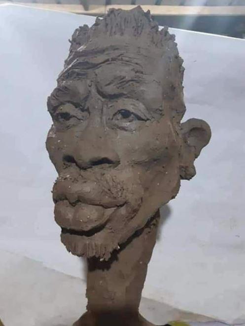 Shatta Wale statue | Airnewsonline