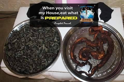 Snake pastor feeds congregation dog meat