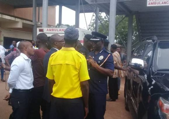 Tamale Hospital CEO reinstated security beefed up