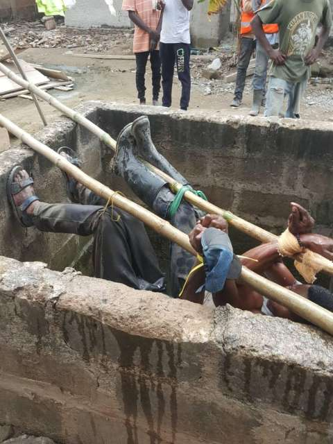 Tied Masons rescued by police airnewsonline