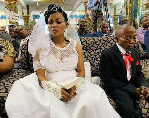 Unhappy bride reportedly runs away