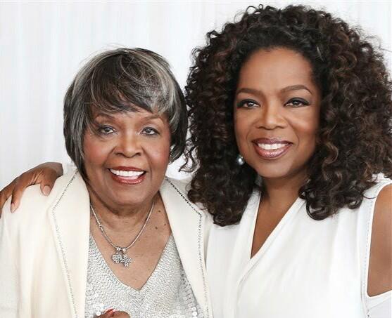 Vernita Lee and Oprah Winfrey