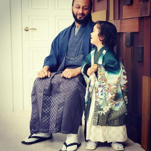 Wanlov the Kubolor and daughter | Airnewsonline
