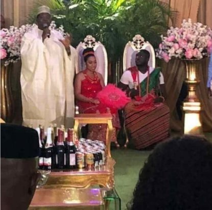 Wedding of Pastor Oyakhilomes daughter to her Ghanaian fiance
