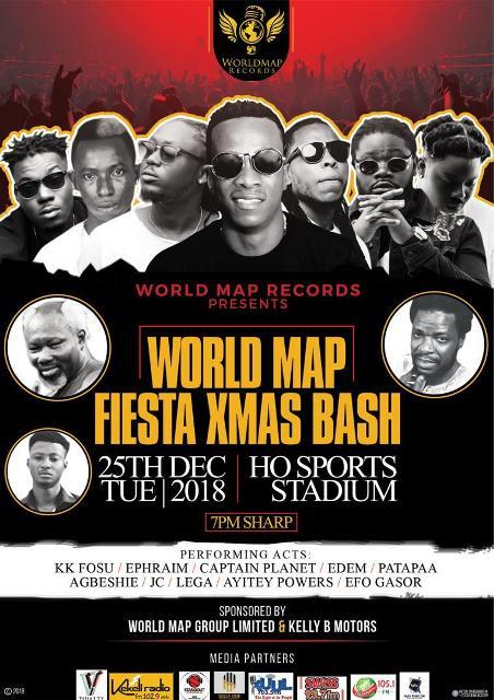 World Map Fiesta Bash