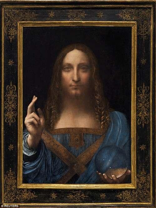 World most expensive painting Salvator Mundi
