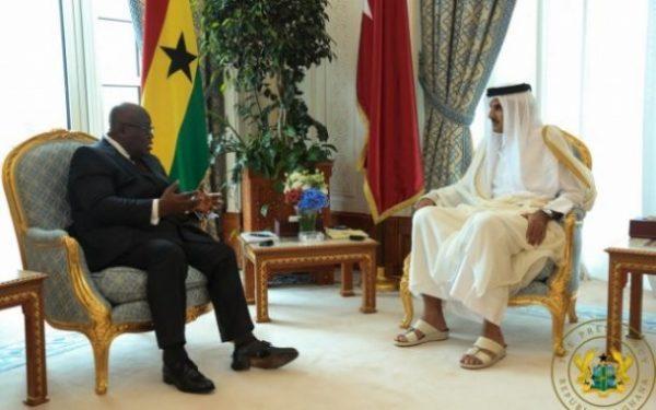 Youre governing Ghana well Emir of Qatar to Nana