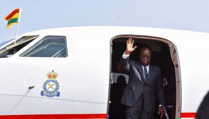 akufo addo travel to African Union summit