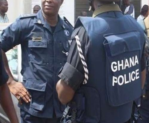 armed robbers shoot police in dansoman