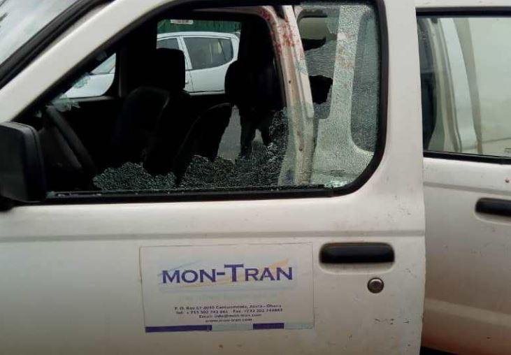 bullion van driver shot