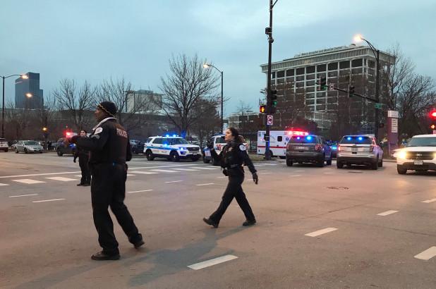 chicago hospital shooting