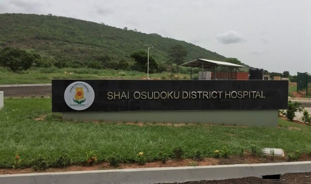 gun fire at shai osudoku district hospital