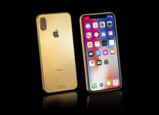 iPhone X Gold Elite