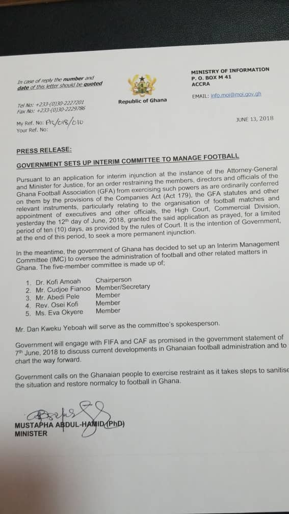 interim committee