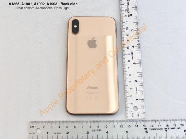 iphone x gold 2
