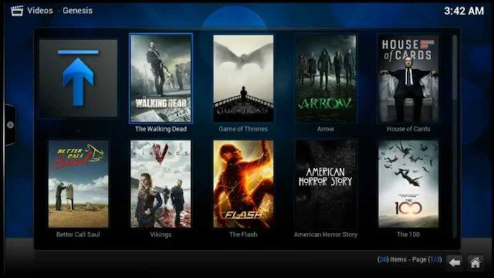 kodi player for windows