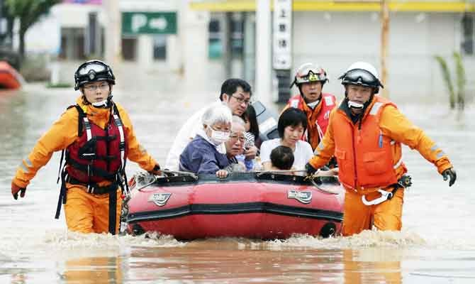 landslides kill at least 81 in western Japan