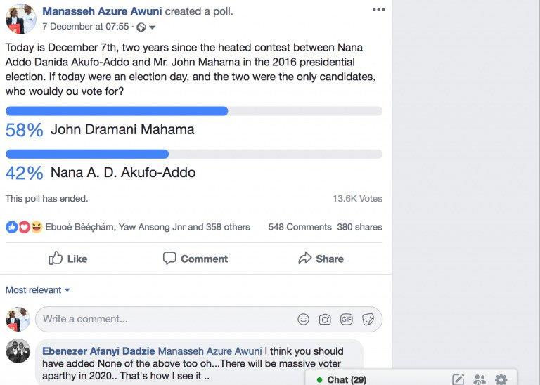manasseh polls