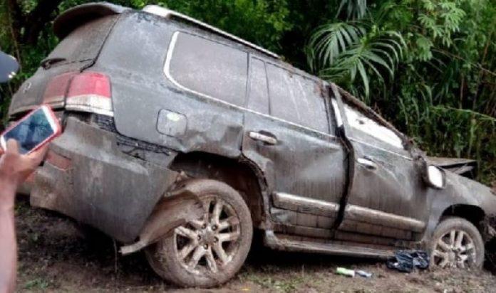 mark woyongo car crash
