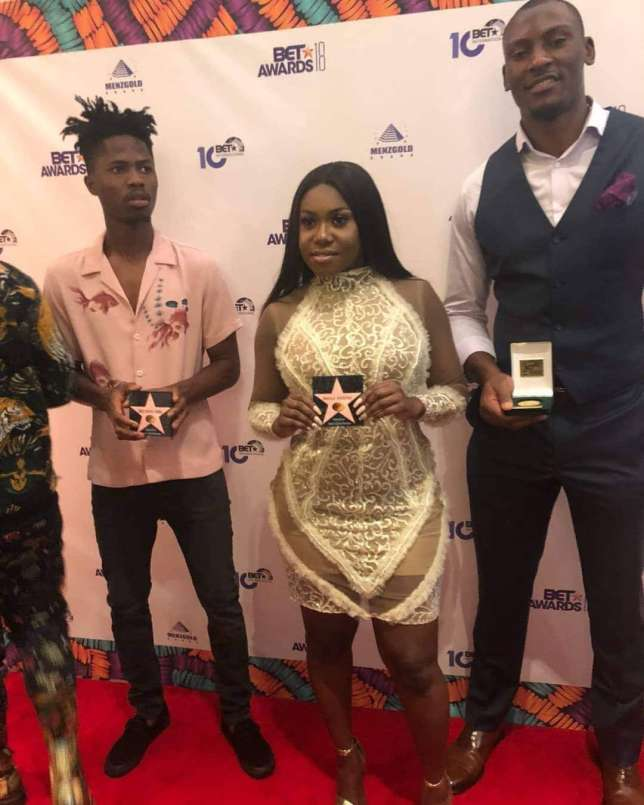 menzgold gift to best international act nominees