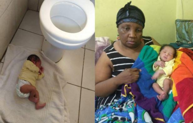newly born Baby abandoned in church bathroom | Airnewsonline
