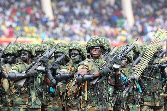 operation vanguard ghana armed forces