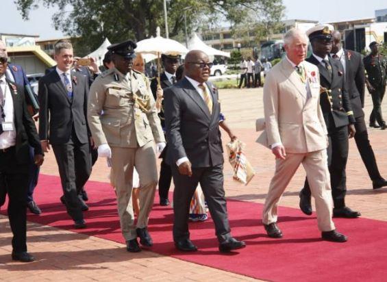 prince of wales Prince Charles visits ghana