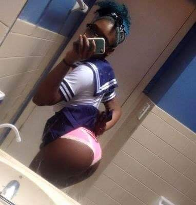 secondary school student show off her pants | Airnewsonline