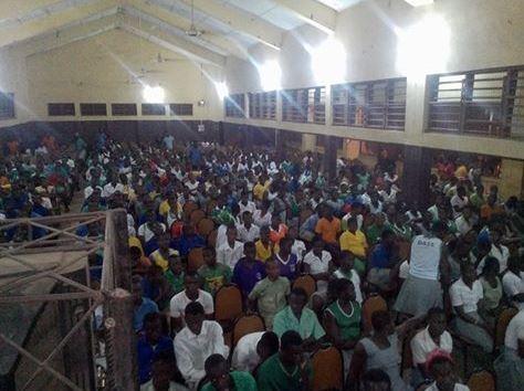 students of Damongo Senior High School