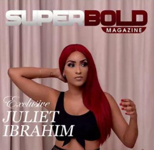superbold magazine with Juliet Ibrahim