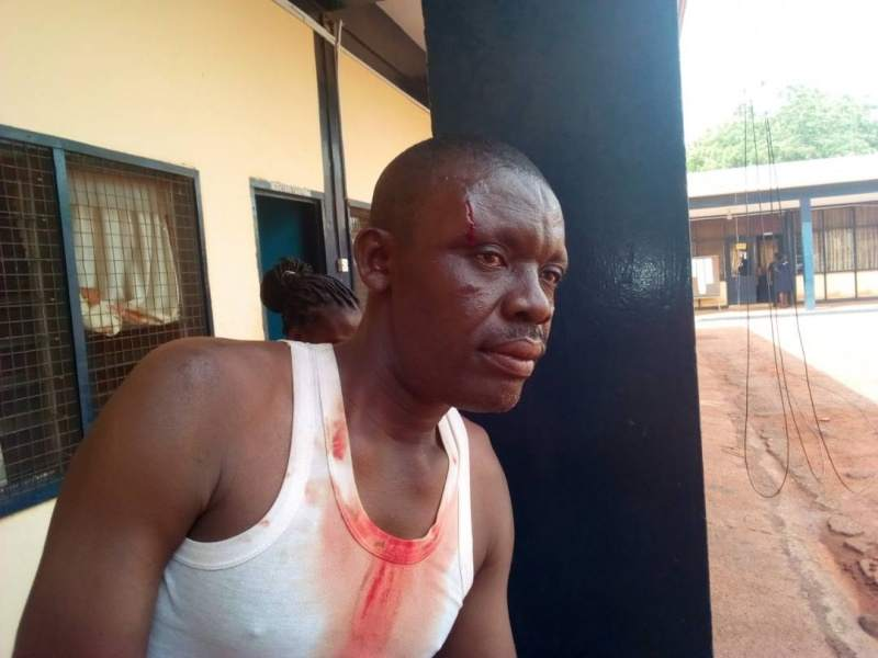 tamale police brutality