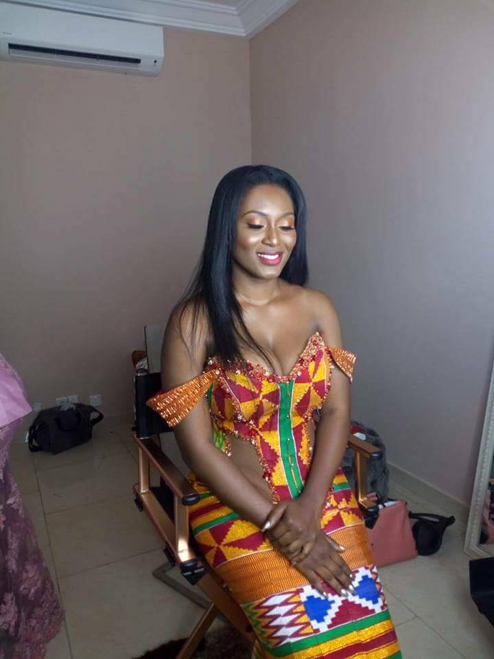 tracy and sarkodie traditional wedding photos
