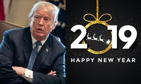 trump new year messgae   Airnewsonline