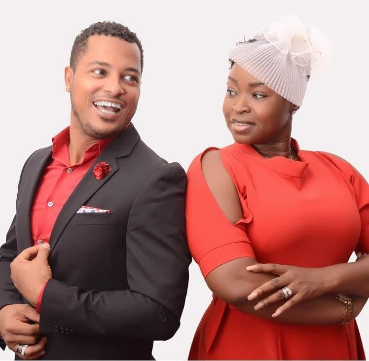 van vicker and Adjoa Vicker