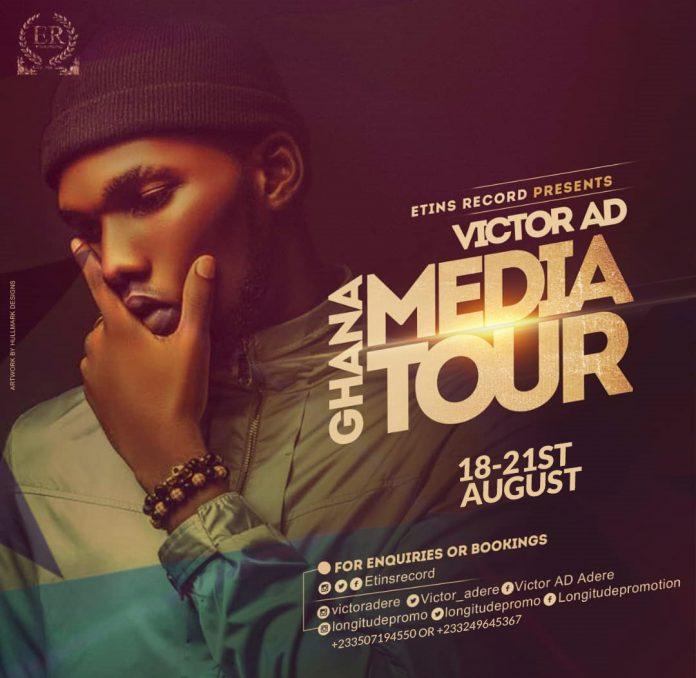 victor AD ghana media tour
